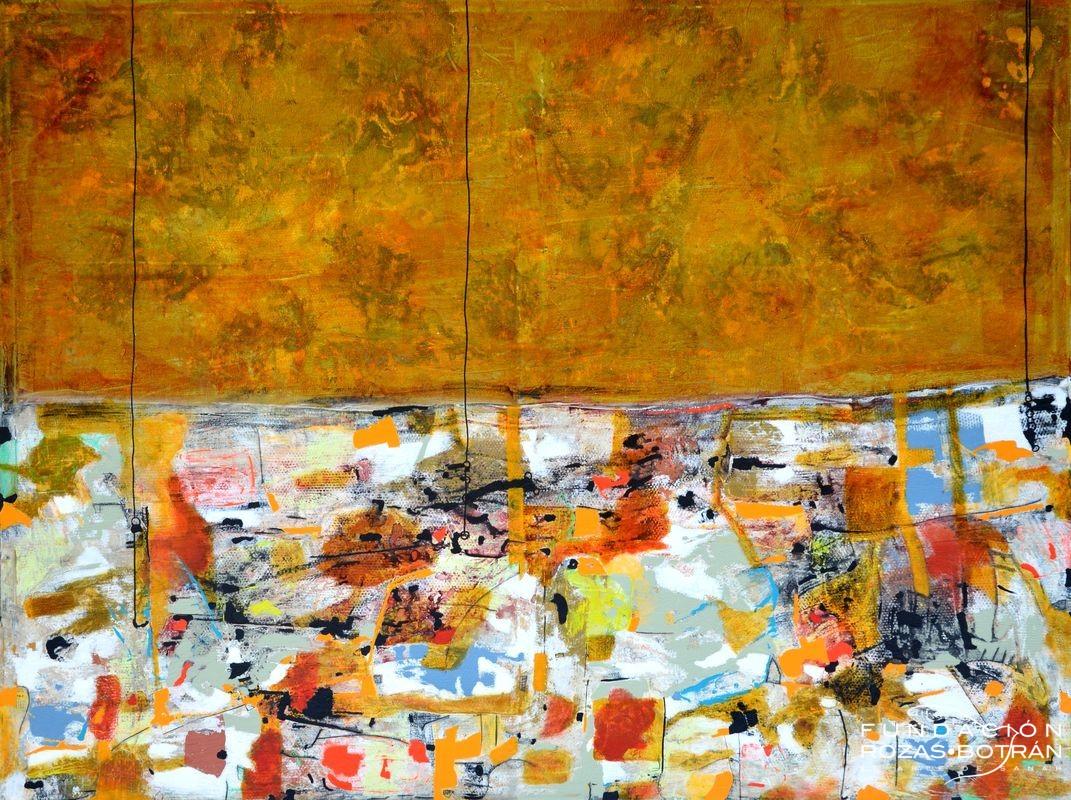 Santana Abstracto 4 138x182 cm